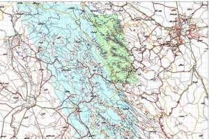 Production of maps from population centers with the highest possibility of snowfall and flooding based on proximity to steep slopes and rivers was done by National Cartographic Center of Iran (NCC)